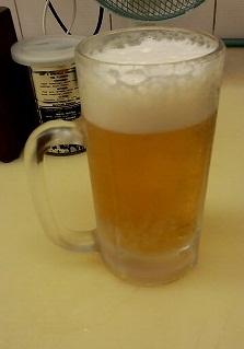 とり甚 生ビール