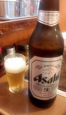 瓶ビール(双月)500円