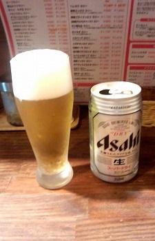 スーパードライ370円いずみカリー