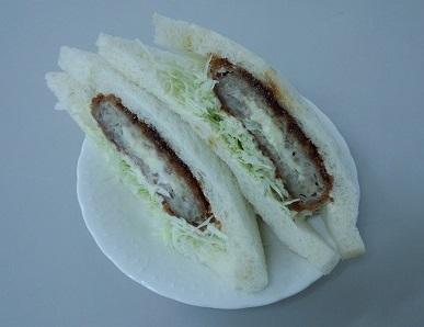 ミンチカツサンド(チーズ入り)300円