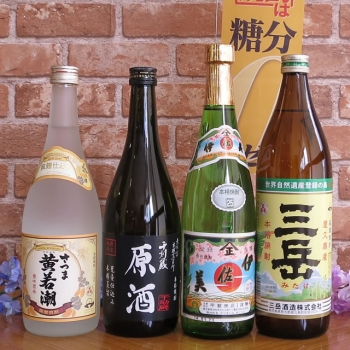 三岳・伊佐美・千刻蔵・黄若潮 小瓶4本セット