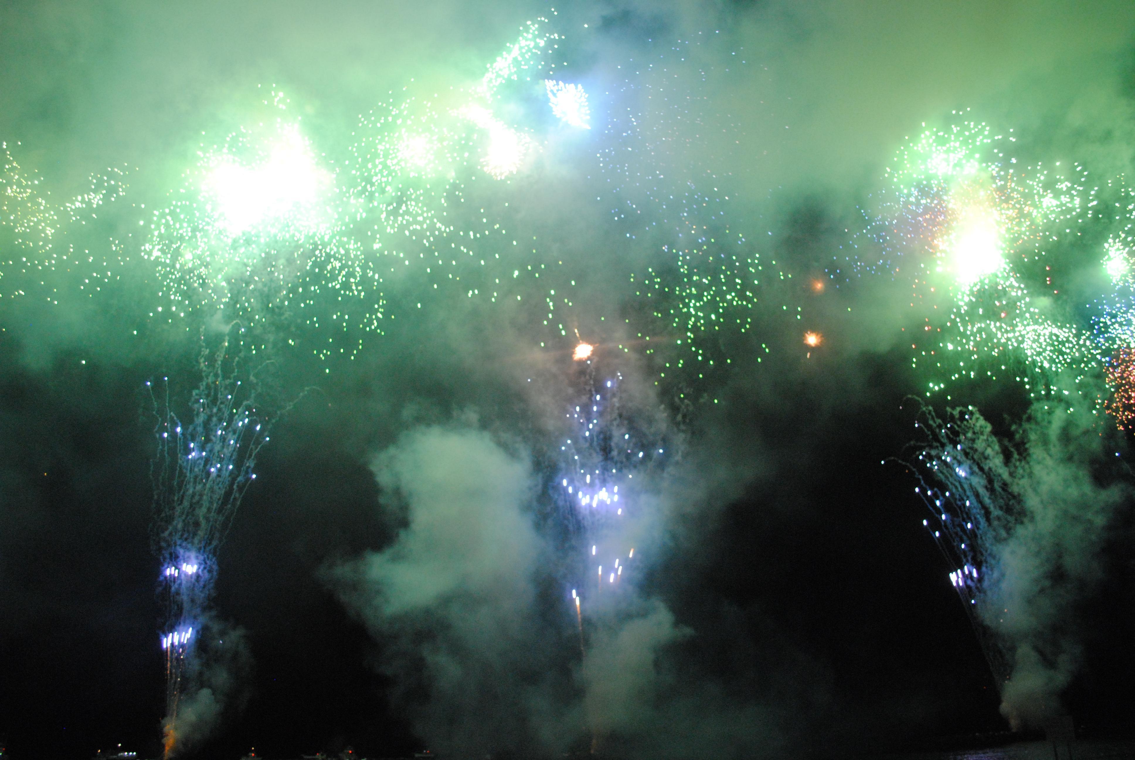 土肥の花火 (2)