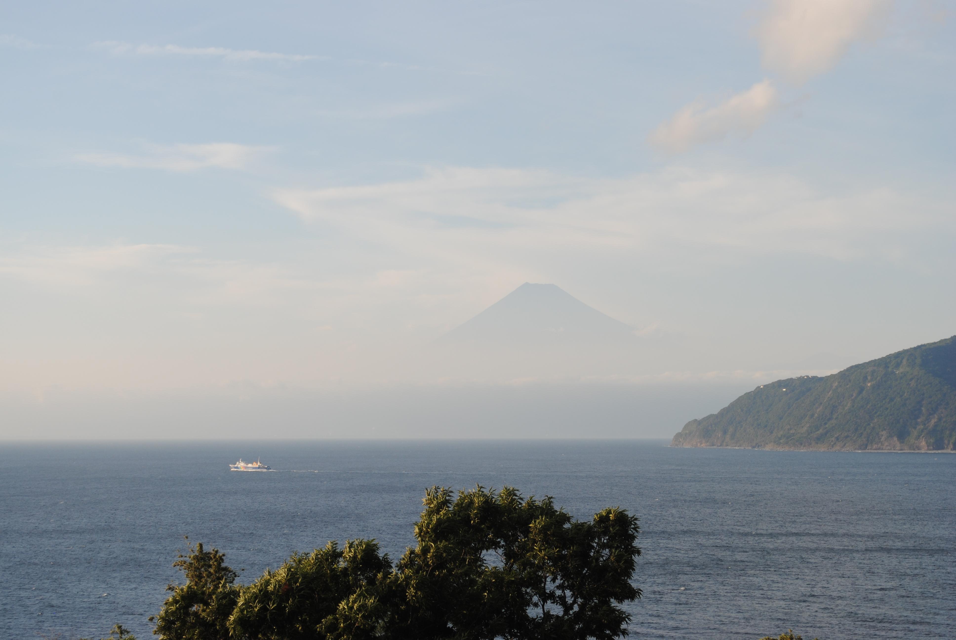 浮かぶ富士山 (1)