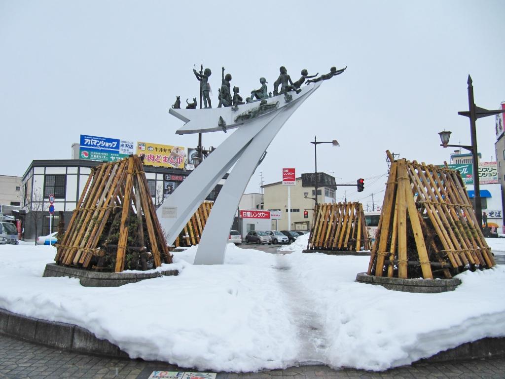 米沢駅駅舎とその周辺 (9)
