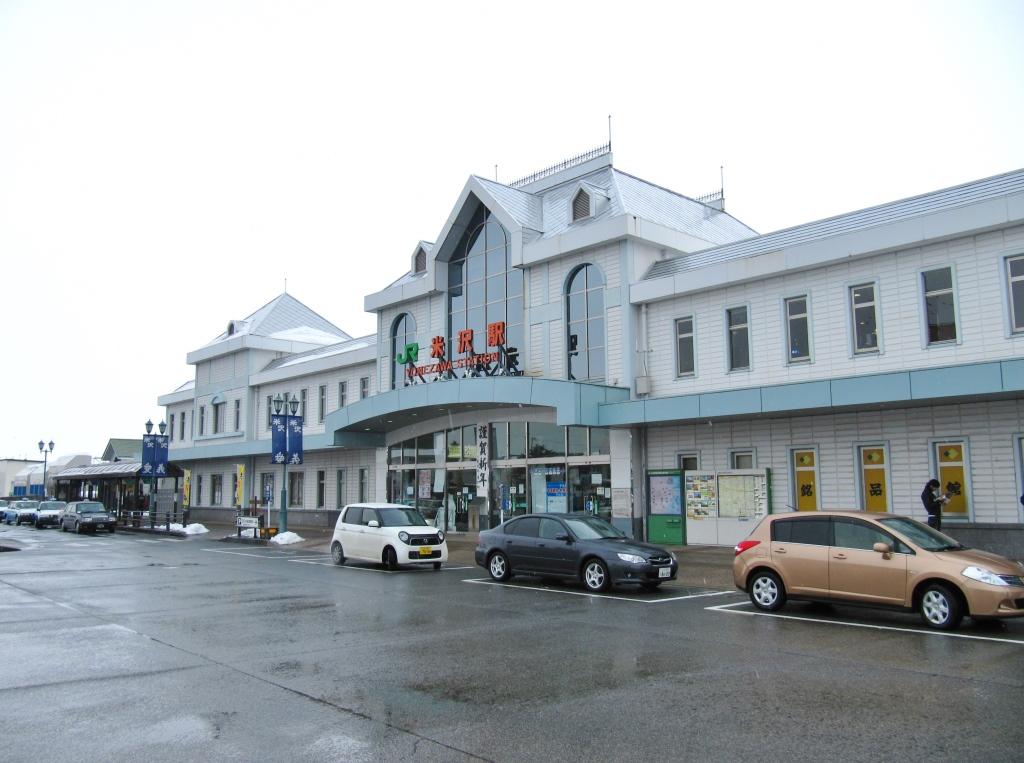 米沢駅駅舎とその周辺 (10)
