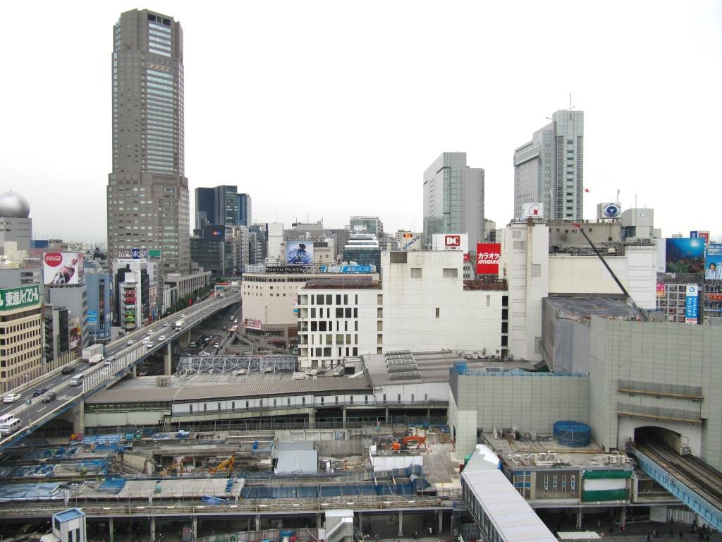 渋谷駅地下化後 (1)