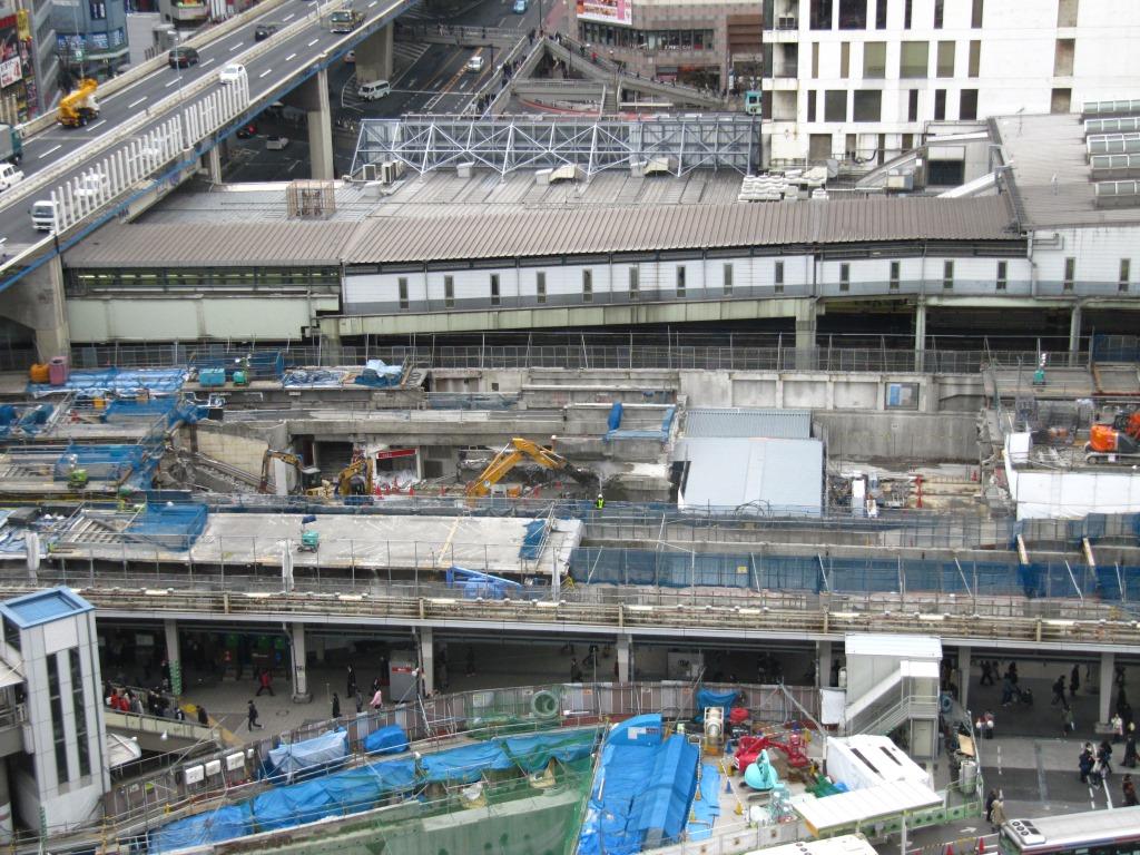 渋谷駅地下化後 (2)