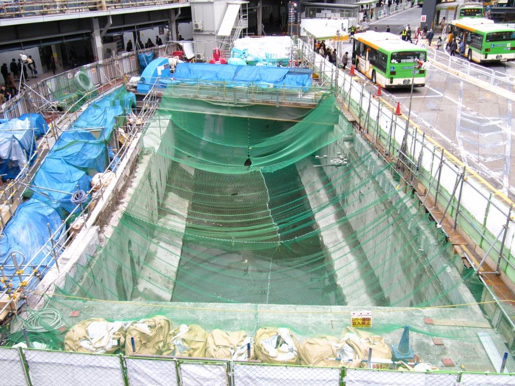 渋谷駅地下化後 (6)
