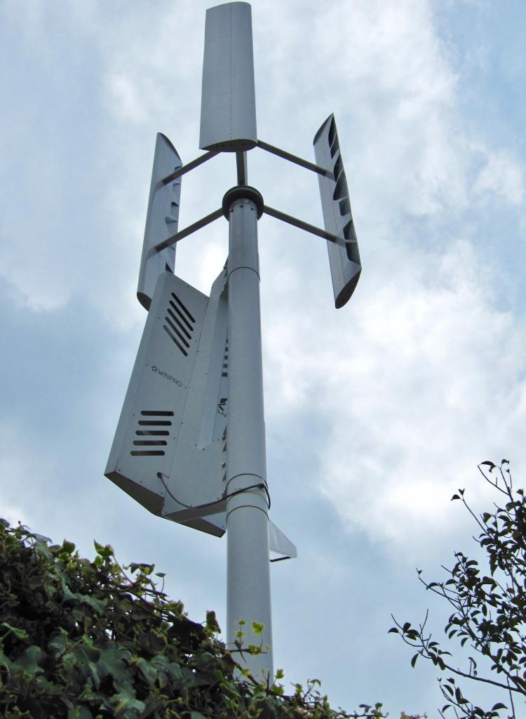 代々木の風力発電 (1)