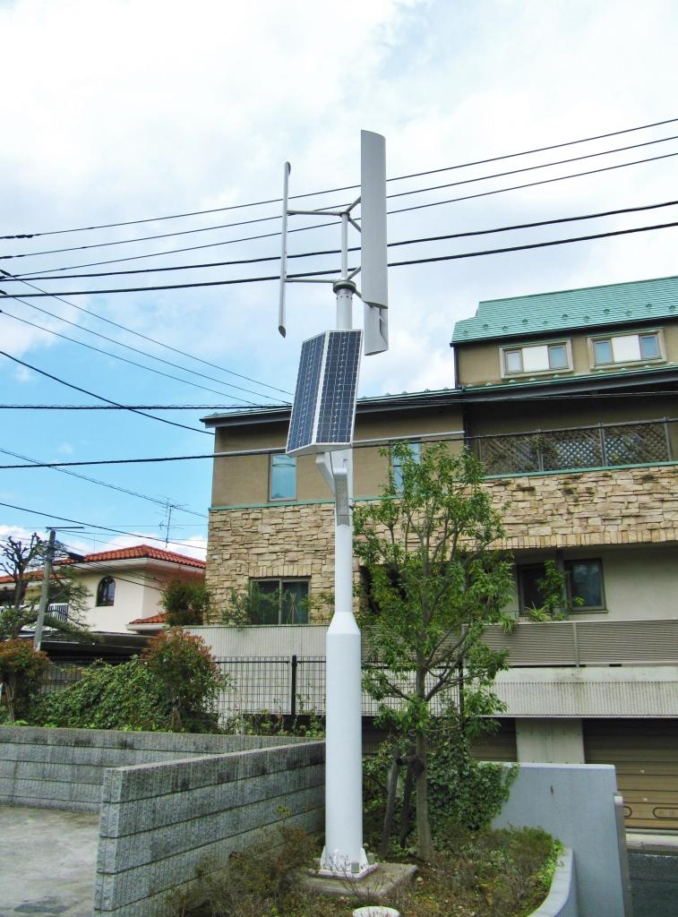 代々木の風力発電 (2)