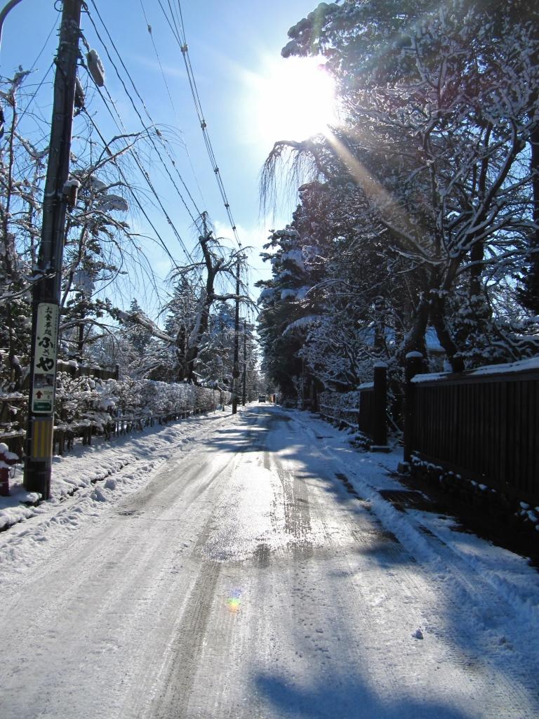 角館の冬 (1)