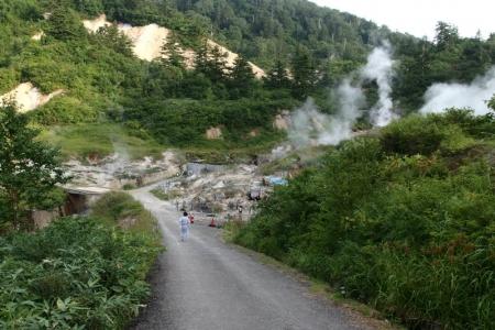 蒸の湯野天風呂