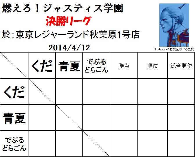 決勝リーグ01