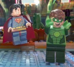 スーパーマンとランタン