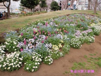 パステル花壇