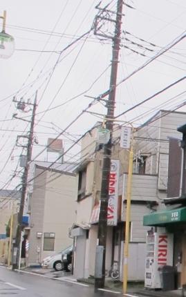 弘明寺 街灯