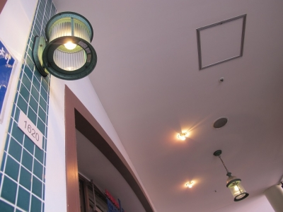 JAZZ DREAM長島 フードコート街灯
