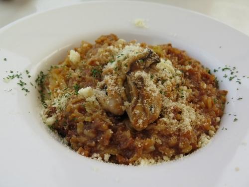 牡蠣のリゾットランチ