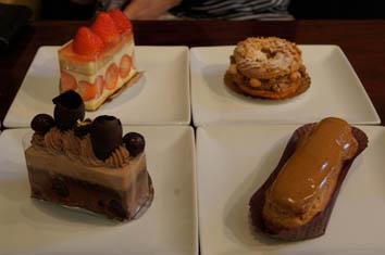 ケーキ集合