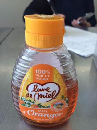 オレンジはちみつ