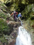 017滝を登る