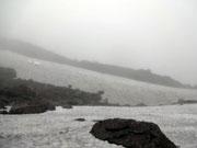 濃霧の氷河公園