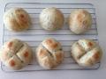バジルとオリーブオイルのパン 手順4