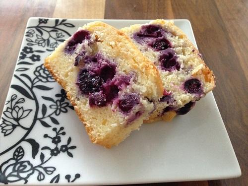 ブルーベリー&ヨーグルトのパウンドケーキ