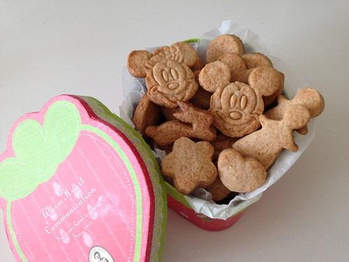 全粒粉入りいちごジャムクッキー