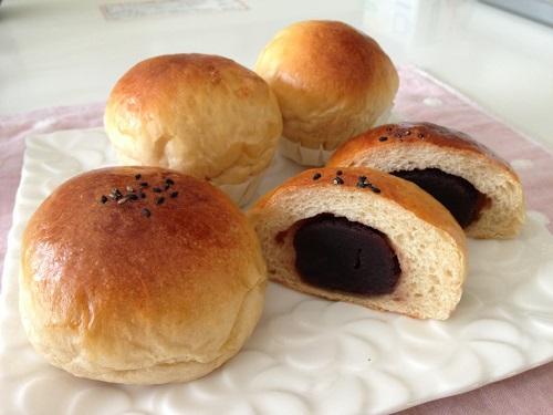 黒糖あんパン