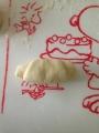 クリームチーズ入りロールパン 手順2