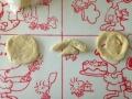 クリームチーズ入りロールパン 手順3