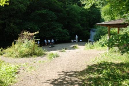 2014年夏千ヶ滝水遊び場