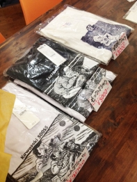 展覧会・Tシャツ改