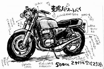 東陽印オートバイ改改