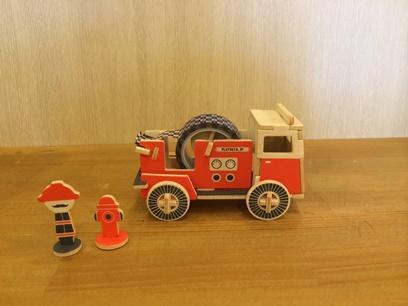 一番人気は消防車