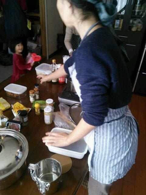 カレー醤作り