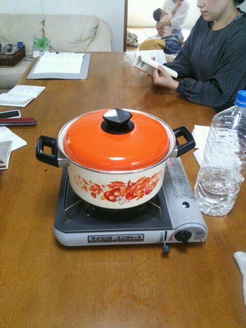 災害食の鍋