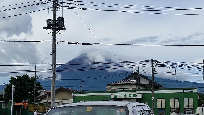 23日の富士山