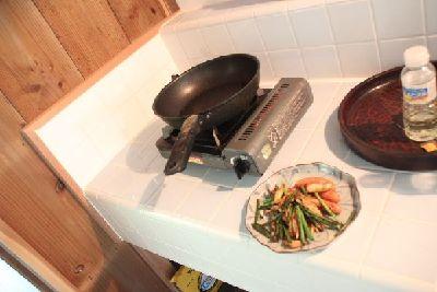 タイルの台所