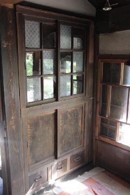 古民家の飾り棚