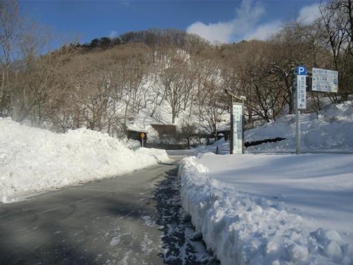 姫百合駐車場入口