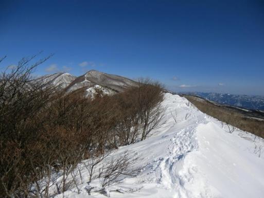 帰り道で荒山・地蔵岳