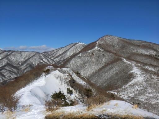 火起山から荒山・地蔵岳