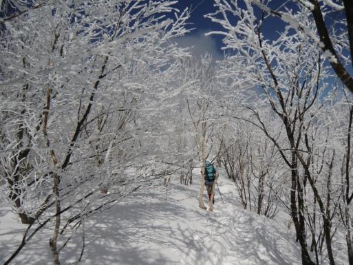 黒檜山頂へ