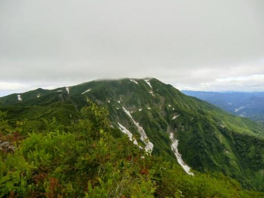 帰るころに浅草岳が