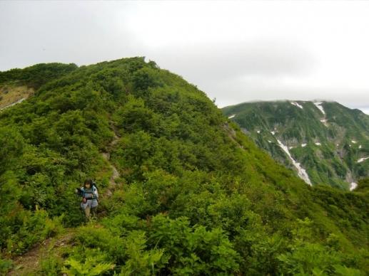 鬼ヶ面山と浅草岳