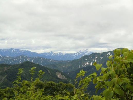 越後駒ヶ岳と中の岳