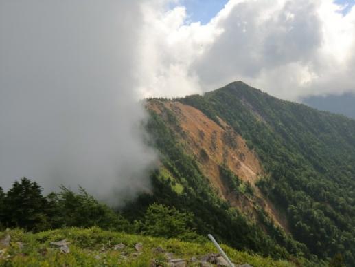 東籠ノ登山から