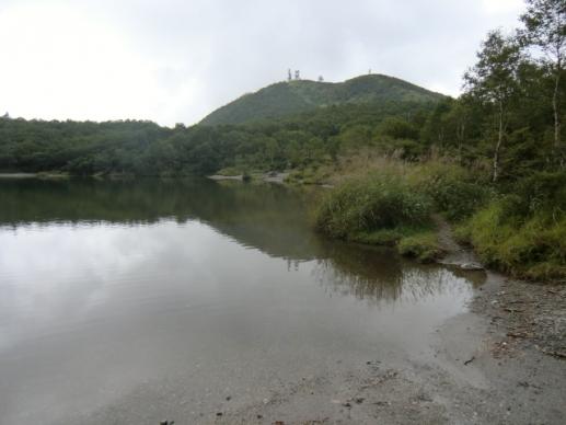 小沼畔から地蔵岳